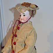 "17"" fashion FG doll   with a Leon PANNIER patented body"