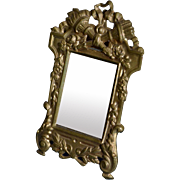 Lovely little mirror for your doll's house circa 1880/1900