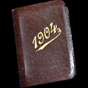 Liliputien calendar 1904