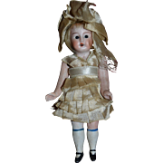 Antique all bisque sweet all original german doll