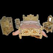 Rare  wonderful set of Paul Leonhardt , bedroom 1900