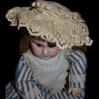 Lovely1885/1890 bebe doll bonnet hat