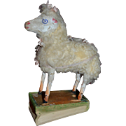 A sheep squeak toy from germany