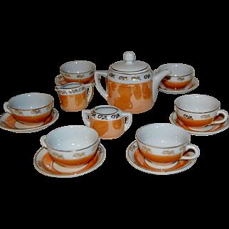Nice tea set for your dolls