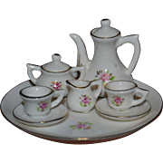 Porcelain tea set for your doll's house