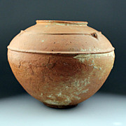 Enormous Egyptian Early pre dynastic pottery vessel!
