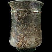 Superb large Roman glass beaker, 2nd.-3rd. century AD