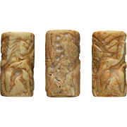 Important large Mesopotamian cylinder seal, Early Dynastic!