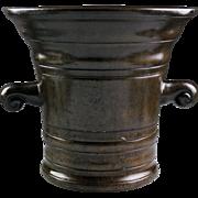 Enormous 17th. century Italian bronze mortar - gem!