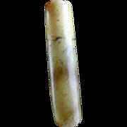 Rare large Ancient Chinese Jade Nephrite bead !