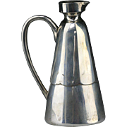 Scarce Chinese pure silver Jug, late QING Dynasty!