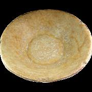 Huge Egyptian Alabaster Dish, Coptic 1st. cent. BC-1st. cent. AD