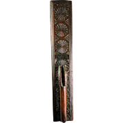 A fine North European Double Horse handle Mangle Board, 18th cent!