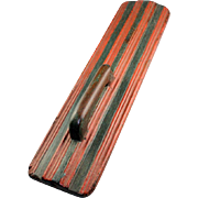 A simple painted European Mangle Board, 18th.-19th. century