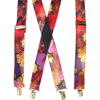 Superb VIntage Coloured Braces
