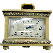 Early 20th Century Miniature Carriage Clock