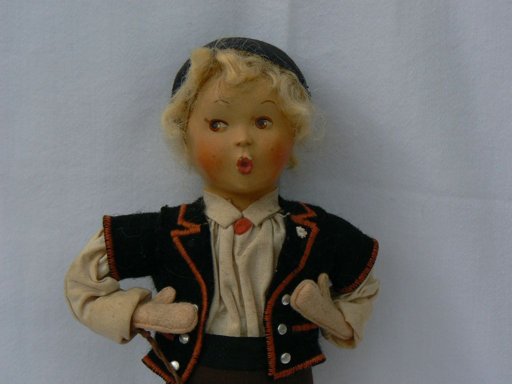 Baitz Boy Doll All Original with Tag.