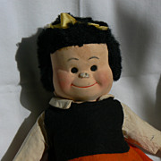 Georgene Novelties Cloth Nancy Doll like Little Lulu