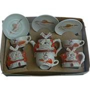Vintage Childs Tea Set Windmill pattern style VERY cute must see.