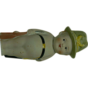 OLD Bisque Boy doll figurine sweet.