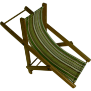 Vintage Lawn Folding Chair for your doll OLD look