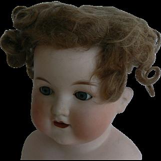 Old vinatge mohair doll wig