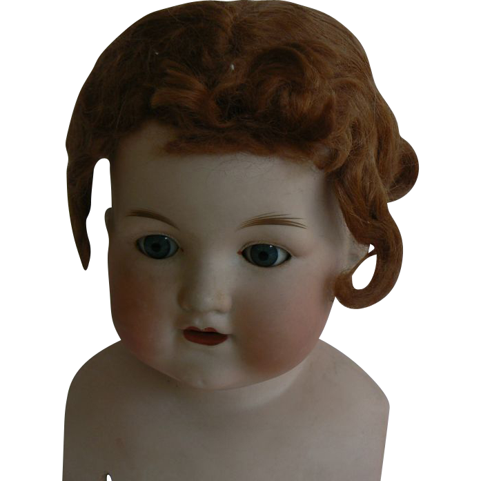 Vintage old mohair doll wig.