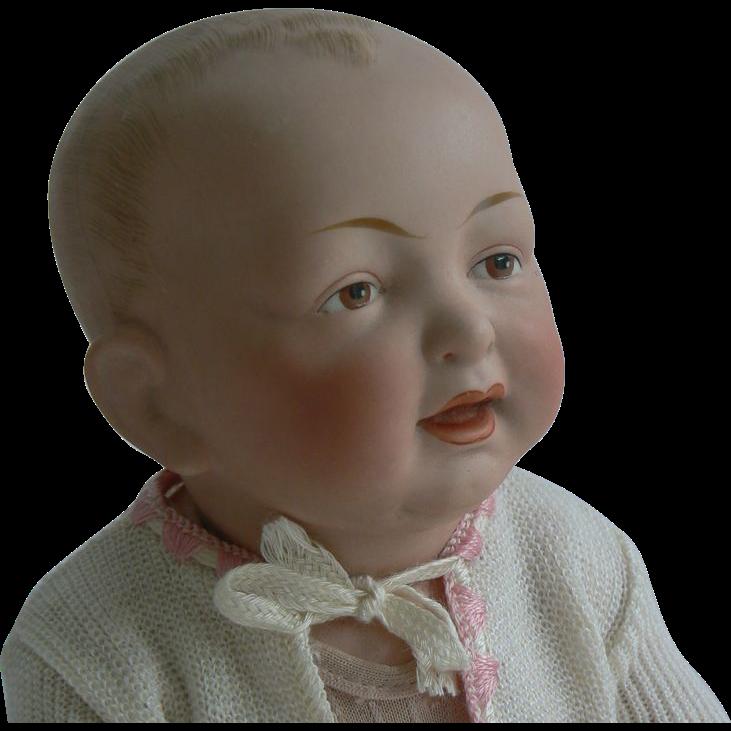DARLING Kestner Painted Eye Baby doll Brown eyes parts.