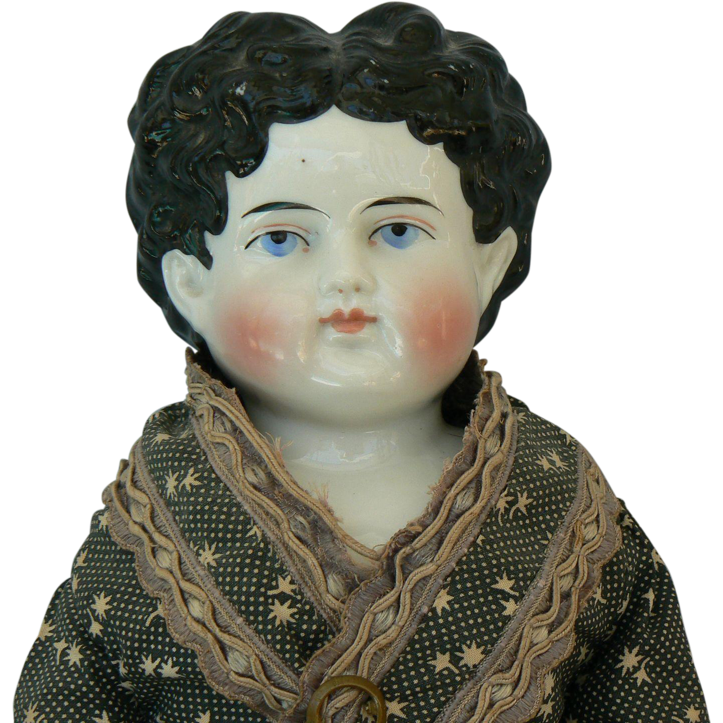 Very Pretty German China Head doll all original.