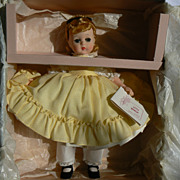 Vintage Madame Alexander Lissy Face Little Women Amy Mint in Box # 1225.