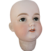 Very LARGE A.M. 17 Doll Head as is for restore or fixer upper.