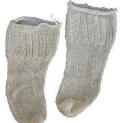 Old Pair of doll socks vinatge.