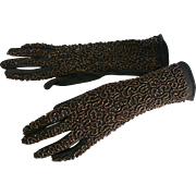 Great Vintage Beaded Gloves OLD and very NIce