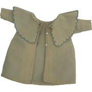 OLD vintage small doll coat very cute