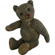 Early OLD small size Teddy Bear great for your Doll to carry