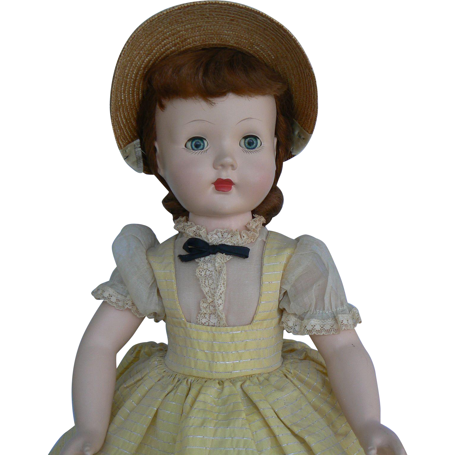 Vintage 50's 18 inch Honey Doll hard plastic all original and sweet.