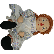 31 inch Georgene Raggedy Ann Doll all original and sweet.