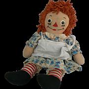 Raggedy Ann Georgene 15 inches tall and all original