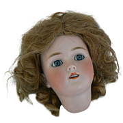 Old Vintage Human Hair Doll Wig size 13 very full and lots of curls.