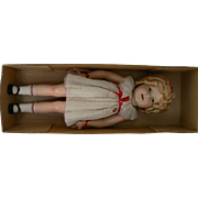 Ideal Shirley Temple Doll 27 inch Mint with Box and Never played with very sweet.