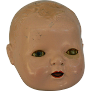 1st issue Effanbee Dy-Dee Baby doll head only.