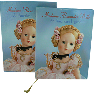 Madame Alexander Dolls An American Legend Book In Box very near mint.