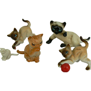 5 Cats for your doll or dollhouse cute.