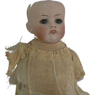 All bisque Glass eye Baby doll mold # 830 as is parts or fixer