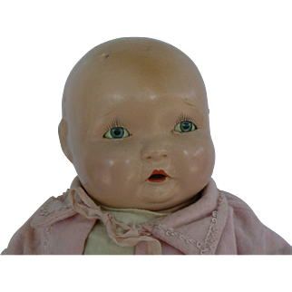 1930's Effanbee Lambkin Doll so sweet and pretty nice condition, Clear eyes.