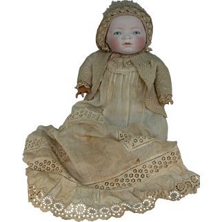 Life size Grace Putnam Bye-Lo Baby 17 inch head attic fresh