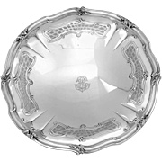 Henin Fabulous French Sterling Silver Compote/Serving Dish/Tray Rococo
