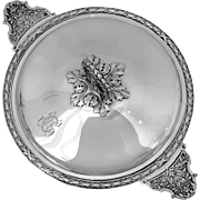 Lapeyre French Sterling Silver Ecuelle Covered Serving Dish/Tureen Neoclassical