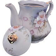 LEFTON Teapot Magnolia KF 2519 Reg.US Pat. Off. 1950's