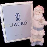 Lladro Santa Claus Papa Noel Figurine Original Box 1990 #5842